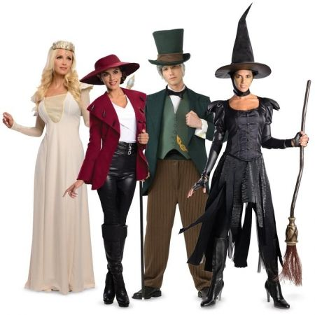 oz the great and powerful group costume idea halloween costumes group - Great Group Halloween Costume Ideas
