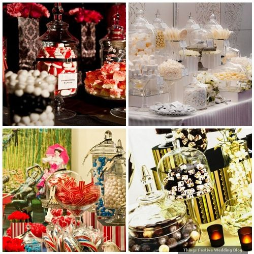 I'm doing a candy/dessert buffet for a wedding in May!