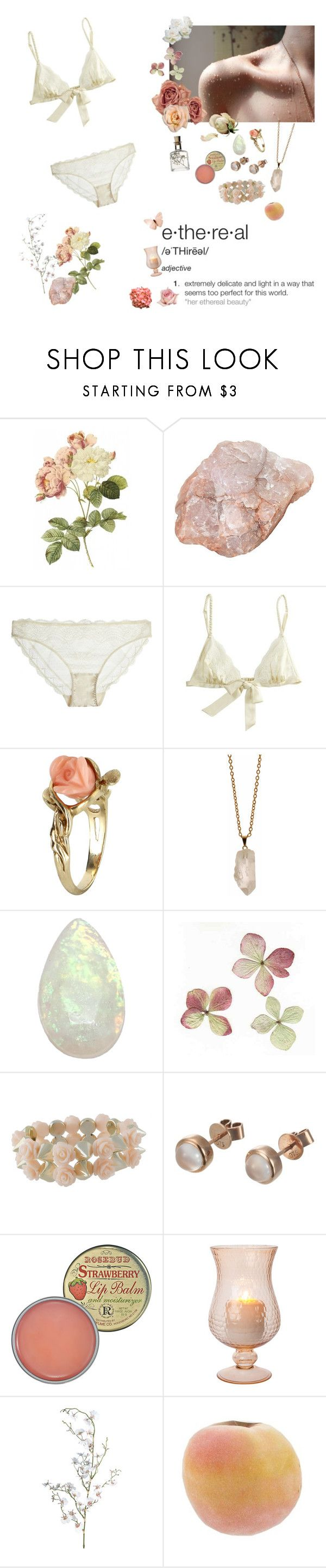 """""""ethereal"""" by angeladesantis ❤ liked on Polyvore featuring KEEP ME, STELLA McCARTNEY, OuiHours, Vintage, Rock 'N Rose, Chanel, Miso, London Road, Rosebud Perfume Co. and Pavilion Broadway"""