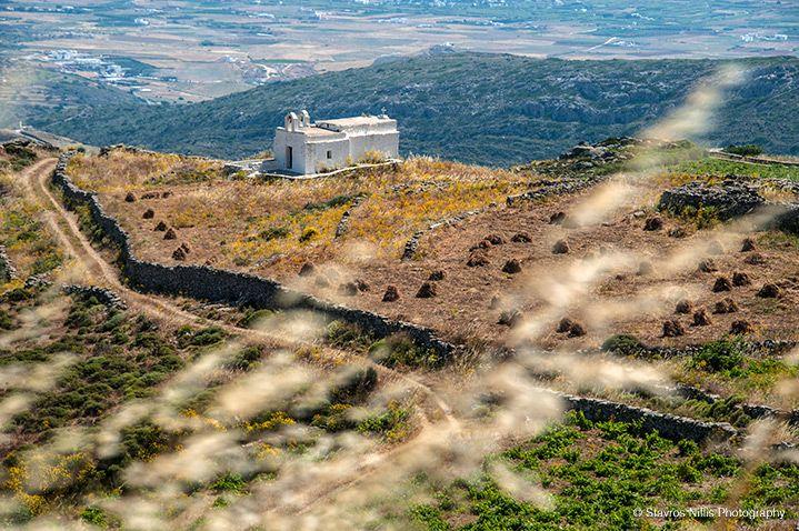 Paros Greece, Cyclades agios nikitas church, Lefkes