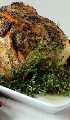 Herb Turkey Rub with onions, garlic, rosemary, sugar, pepper and thyme. Spread evenly over your poultry of choice for an aromatic and flavorful taste infusion. Perfect for your holiday Thanksgiving or Christmas turkey, but also a quick and easy recipe for chicken or pork any time of the year.