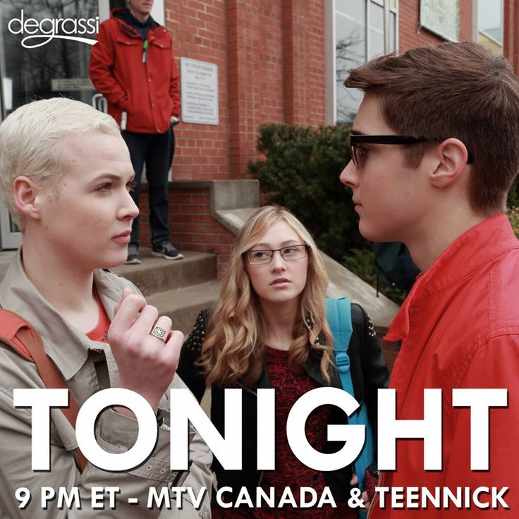 "S14 Ep2 ""Wise Up"" - Uh oh...The face-off #Degrassi starts at 9 pm ET tonight on MTV Canada & TeenNick!"