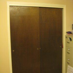Redo Old Closet Doors