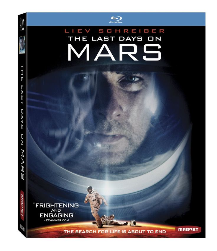The Last Days on Mars (2013) ($14.96) http://www.amazon.com/exec/obidos/ASIN/B00HF00RIS/hpb2-20/ASIN/B00HF00RIS This is not a sc-fi movie, it's a horror movie, and it was horribly bad. - Do not waste your time watching this awful film. - The characters were developed and the story did not contain any noticeable plot holes, save one.