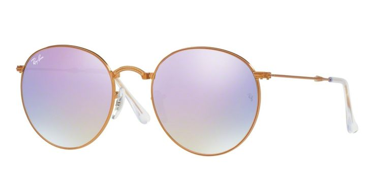 Ray-Ban for man rb3532  - 198\/7X (SHINY BRONZE\/lilac flash gradient), Designer Sunglasses Caliber 53