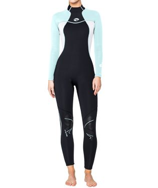 Bare 3/2mm Nixie Womens Full Stretch Scuba Diving Wetsu - Women's Wetsuits : House of Scuba