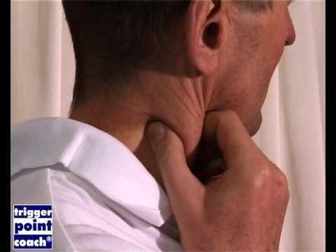 ▶ hoofdpijn verhelpen met triggerpoint zelfmassage - YouTube