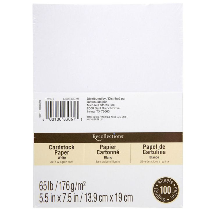 wedding invitations from michaels crafts%0A Recollections   Cardstock Paper Value Pack