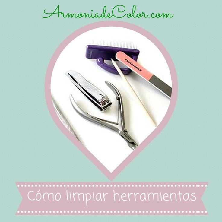 Cómo limpiar las herramientas de manicura
