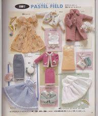 Copia gratis de libro completo con patrones de ropa de Jenny. Compatible Blythe, Pullip, obitsu 25 y 27 cm.