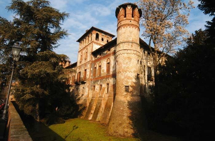 Castello di Piovera, Alessandria, Pemonte.