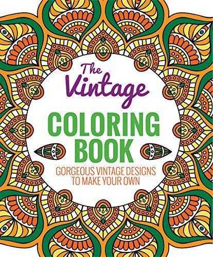 The Vintage Coloring Book Von Editors Of Thunder Bay Press