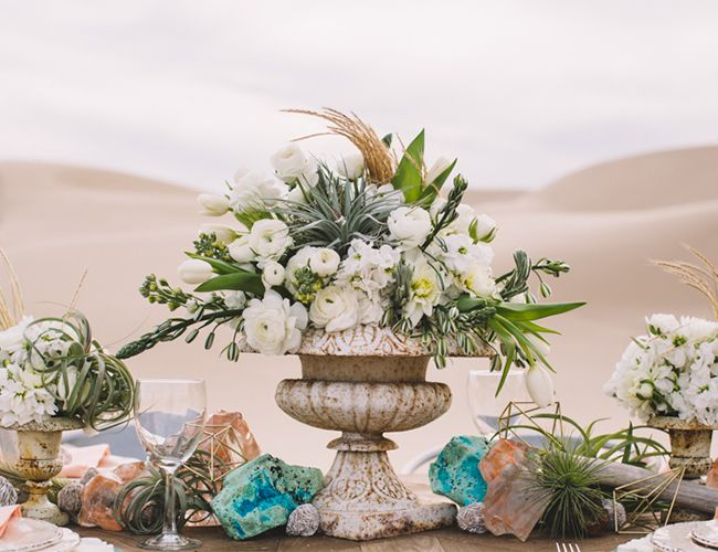 Pink & Turquoise Desert Wedding Inspiration - Inspired By This