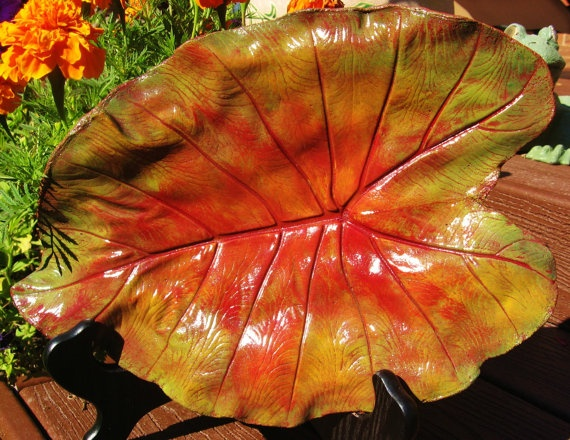 Crafts With Leaves Pinterest