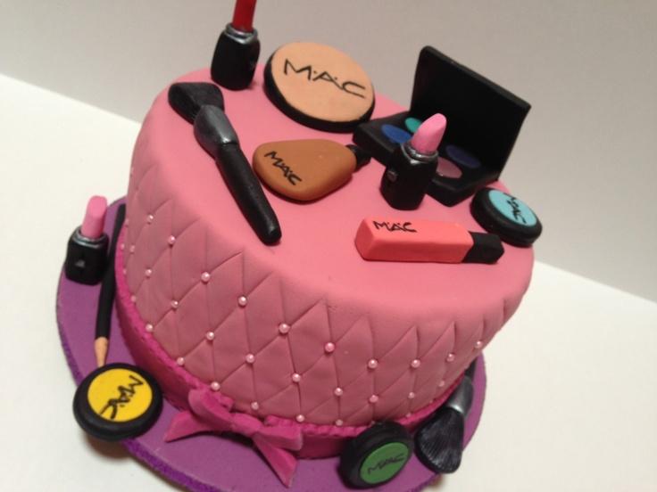 Makeup Cake Decorations : MAC makeup cake mac cakes Pinterest Makeup Cakes ...
