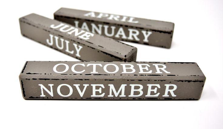 Pin On الأشهر بالانجليزي
