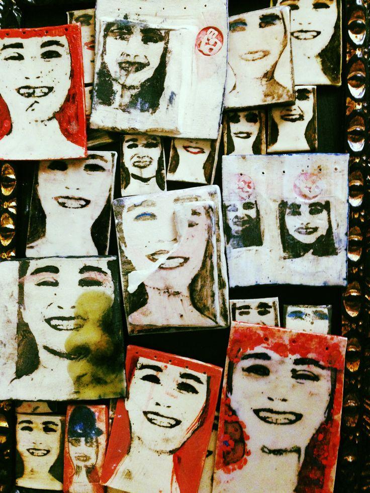 ceramica con fotografías