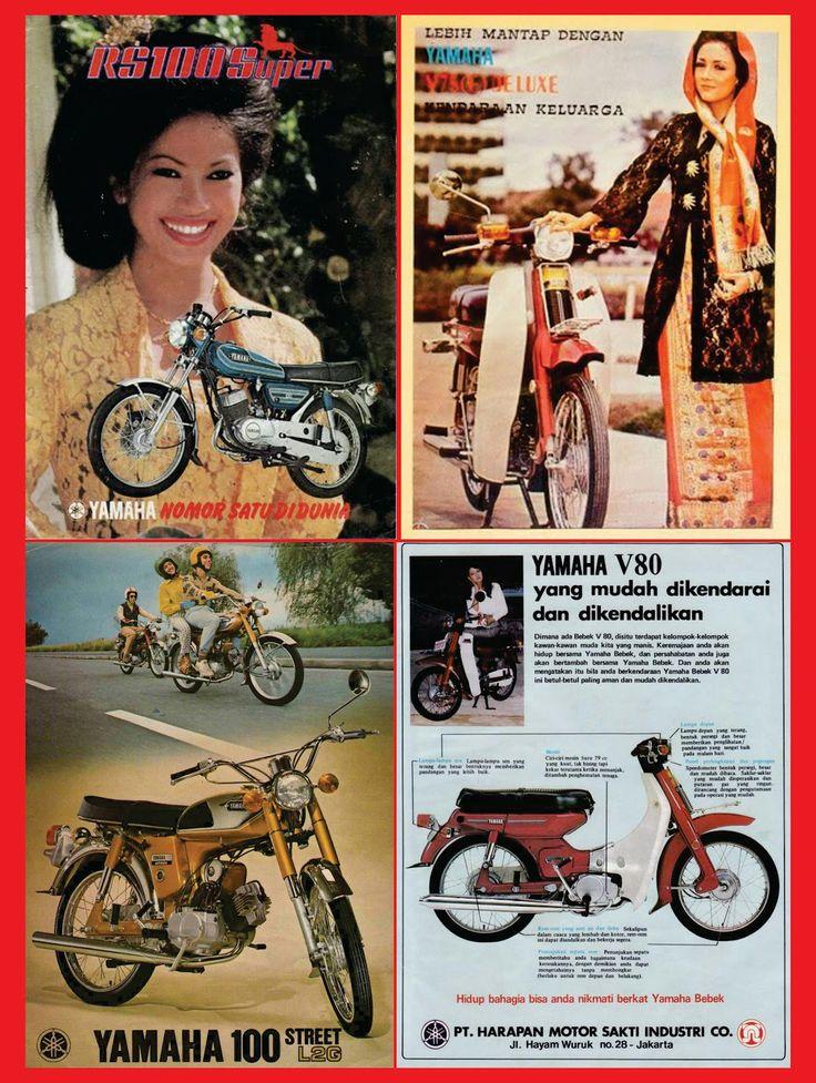 Yamaha V 75, V 80, RS 100 & Yamaha 100