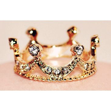 To crown off the night, a ring fit for every princess :)
