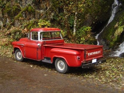 red 1956 chevy truck - Google Search