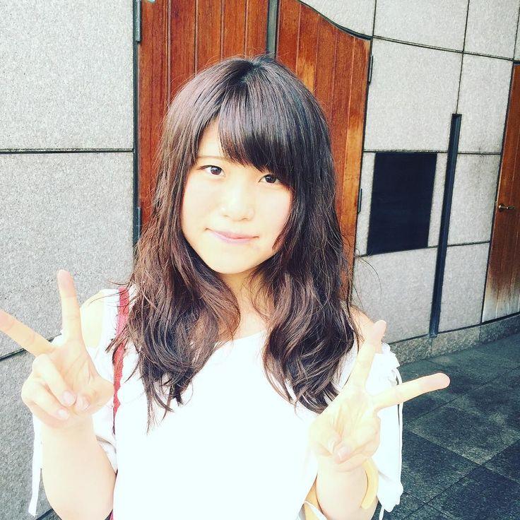 ゆるいパーマ パーマ中です #神戸 #美容室 #パーマ #ロングレイヤー #perm #kikikobeperm #kikikobecs #くしゃくしゃ  #kobe #japan #haircut #summer #夏 #ゆるいパーマ #ムース