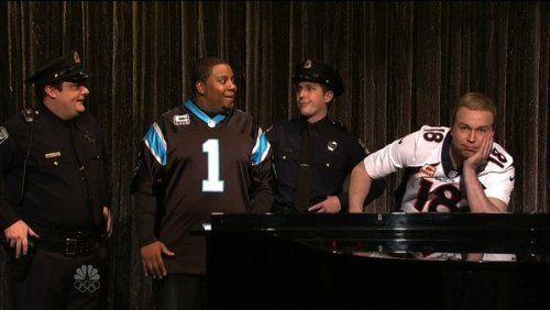 SNL: Peyton Manning and Cam Newton sing 'Ebony and... #CamNewton: SNL: Peyton Manning and Cam Newton sing 'Ebony and Ivory'… #CamNewton