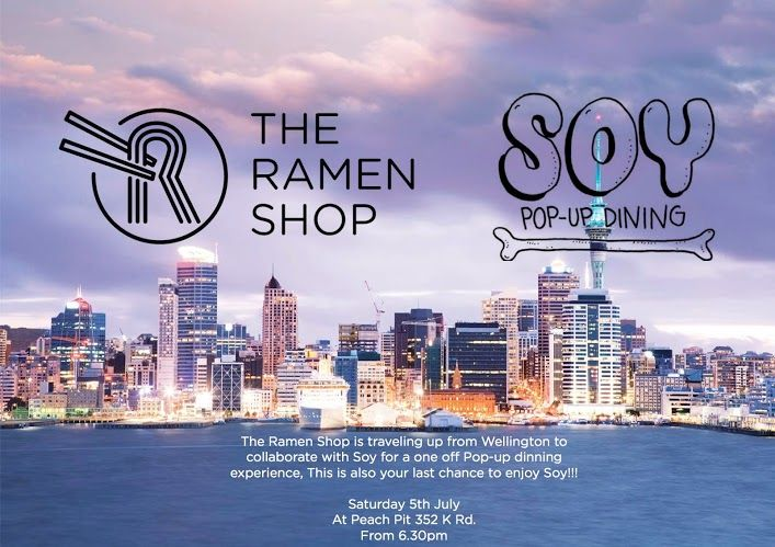 Pop Up in Auckland with Soy