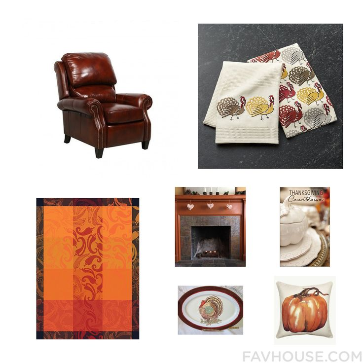 Decor Tip Featuring Barcalounger Recliner Cotton Dish Towel Kitchen Linen And Thanksgiving Centerpieces From November 2016 #home #decor
