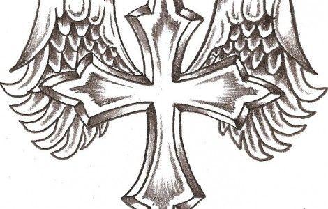 Easy Cool Cross Drawings
