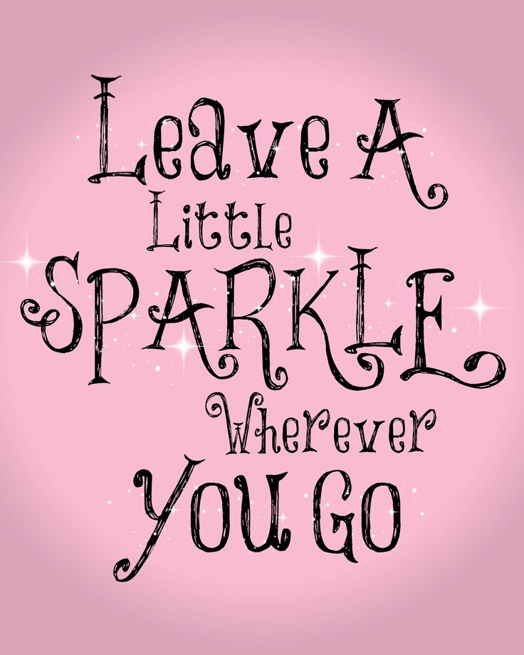 Pink Sparkle Quote; Http://folakeminuggets.blogspot.com/p/