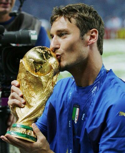 With WC Totti