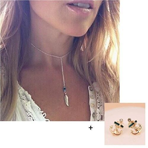 Oferta: 1.7€. Comprar Ofertas de Malloom®venta caliente mujeres joyas estilo bohemio turquesa la forma de la pluma la borla colgante declaración de la cadena barato. ¡Mira las ofertas!