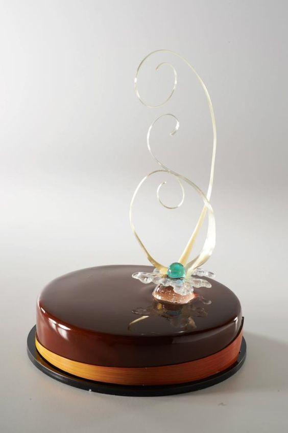 Шоколадная зеркальная глазурь — Идеи и полезная информация — Дом Кондитера