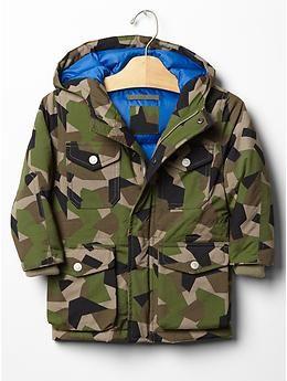 Boys Jack Spade x GapKids geo camo jacket