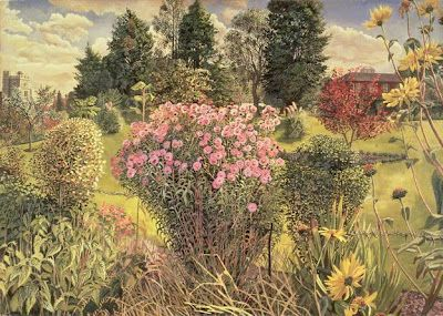 """Stanley Spencer, """"Bellrope Meadow, Cookham"""" (1936)"""