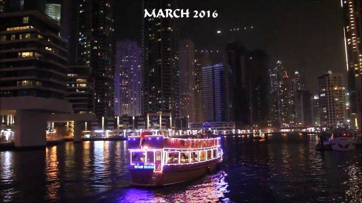 Dubai 2016: Dhow Cruise at the Dubai Marina