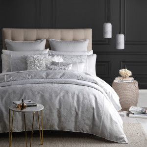 Canyon Charcoal Duvet Cover by Logan and Mason