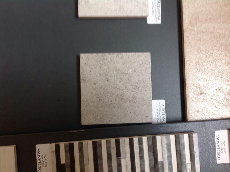 Bathroom/hallway floor tiles