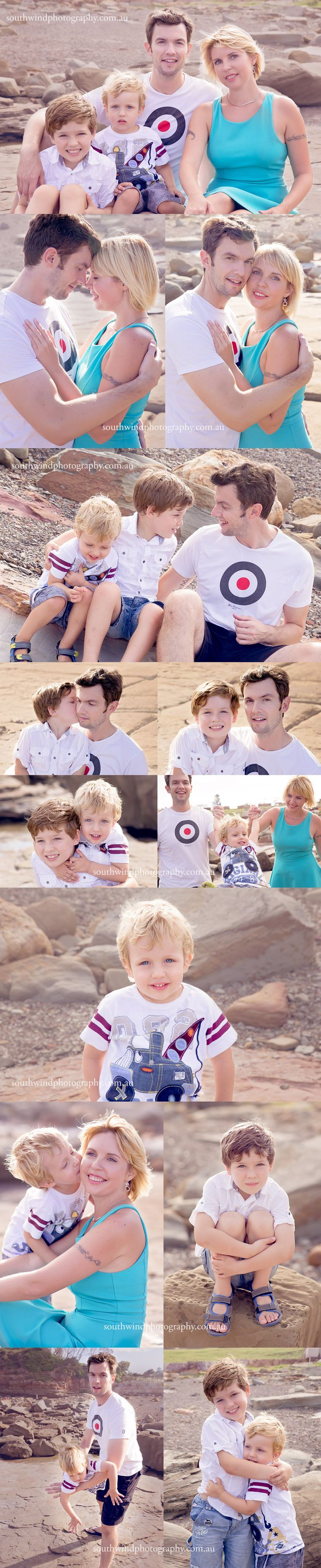 A summer fun portrait session for family R | Terrigal Beach professional photographer