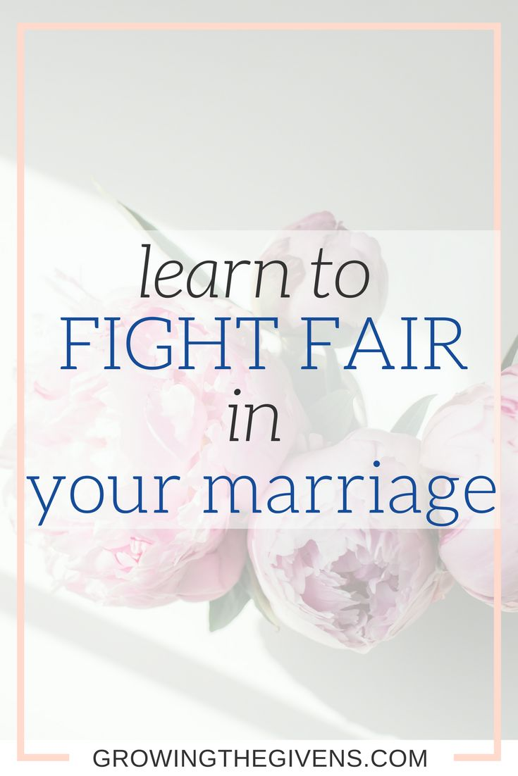 Use these lessons to teach you how to Fight fair in marriage. Grow your relationships with these confrontation tactics. via @growinggivens