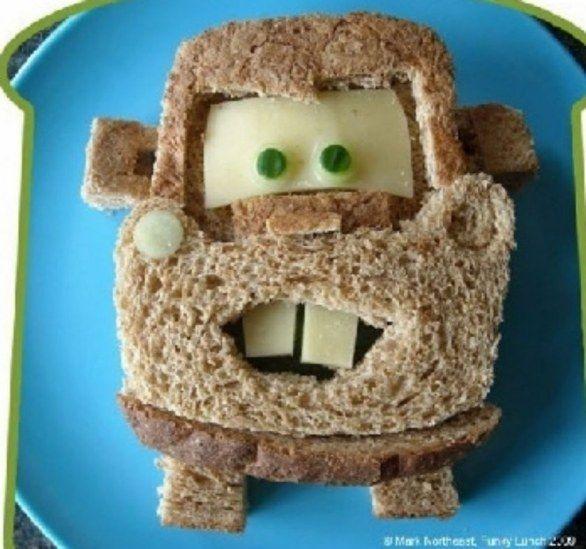 Ricette per bambini: sandwich con le verdure