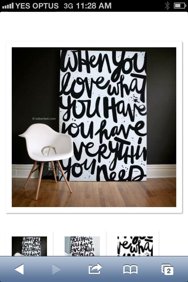 Black and white 39 love 39 word art canvas framed word art for Diy canvas art black and white