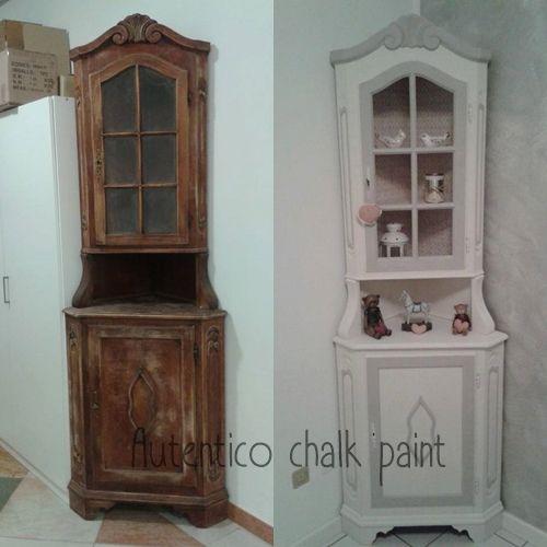 Oltre 25 fantastiche idee su mobili dipinti su pinterest - Cambiare colore ai mobili ...