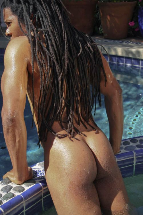 Sexy naked boys with dreads — 10