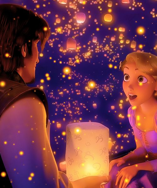 how to make floating lanterns like in tangled
