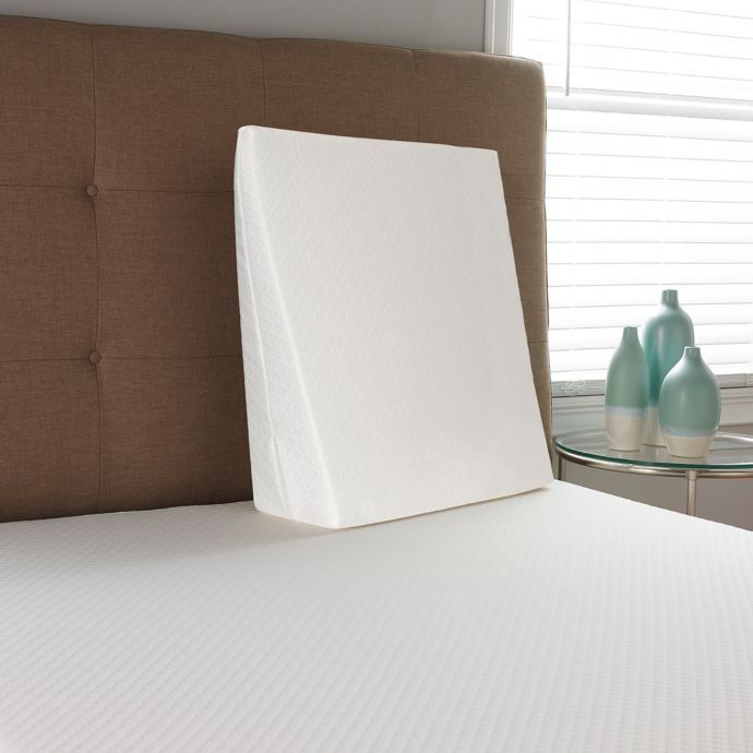 Therapedic Comfort Supreme Bed Wedge Pillow In White Bed Wedge