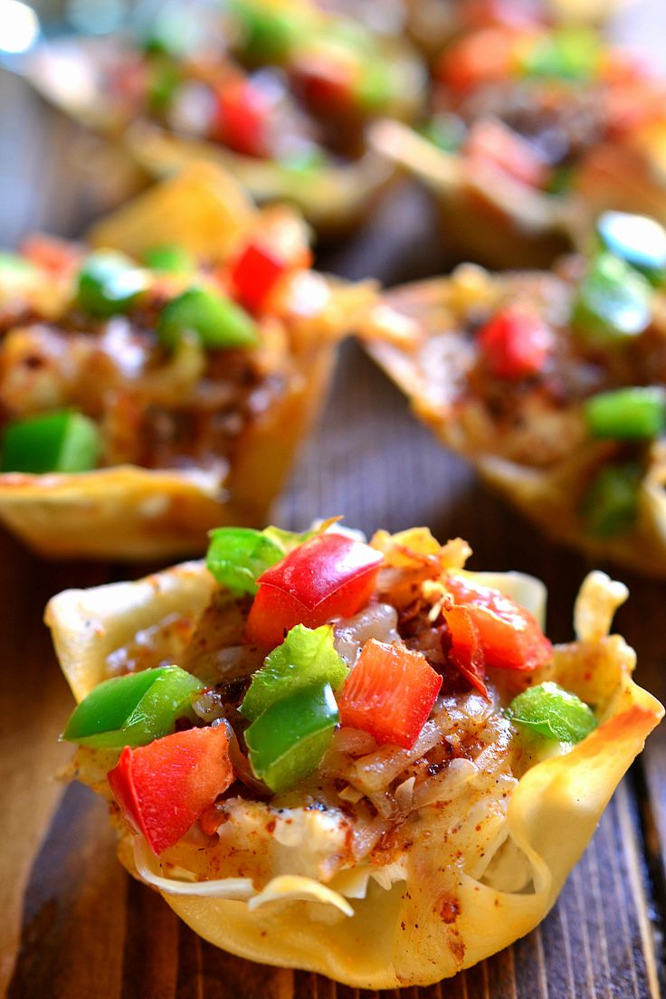 ... wontons wonton cups southwest chicken wonton wrappers holiday