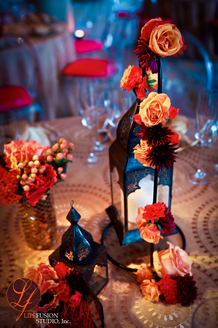 Lantern centerpiece moroccan inspired wedding pinterest for Decoration images