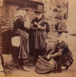 Oyster women-Wales