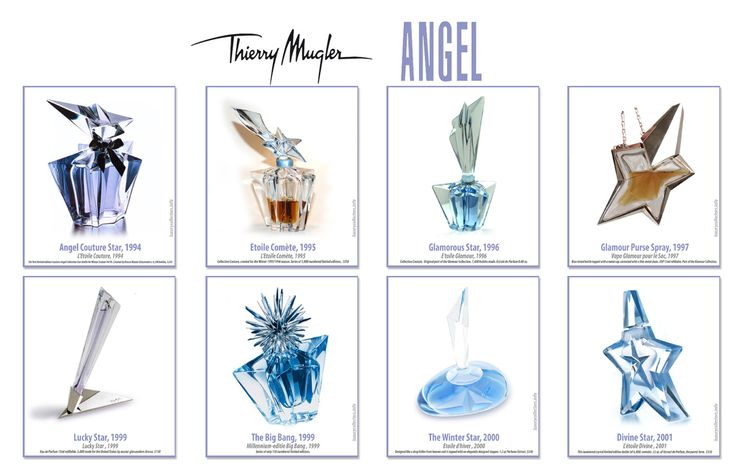 thierry mugler limited editions | Collector's guide to Value of Thierry Mugler Angel Perfume ...